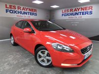 USED 2014 14 VOLVO V40 2.0 D3 SE 5d 148 BHP Full Volvo Service History , Stop start , Climate control