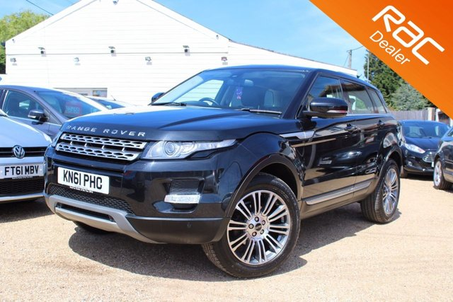 View our 2011 61 LAND ROVER RANGE ROVER EVOQUE 2.2 SD4 PRESTIGE 5d 190 BHP