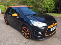 USED 2012 61 CITROEN DS3 1.6 RACING BLACK 3d 207 BHP 6 MONTHS PART AND LABOUR WARRANTY