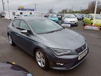USED 2013 63 SEAT LEON 1.4 TSI FR TECHNOLOGY 5d 140 BHP