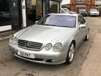 2001 MERCEDES-BENZ CL