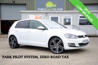 USED 2015 VOLKSWAGEN GOLF 1.6 MATCH TDI 5d *PARK PILOT & FSH* *FROM £179 MONTHLY*