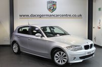 USED 2007 56 BMW 1 SERIES 2.0 118D SE 5DR 121 BHP + SERVICE HISTORY + WONDERFULLY MAINTAINED + RAIN SENSORS + PARKING SENSORS + AIR CONDITIONING + 16 INCH ALLOY WHEELS +