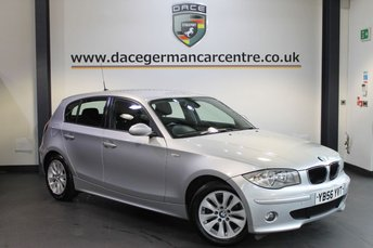 2007 BMW 1 SERIES 2.0 118D SE 5DR 121 BHP £4870.00