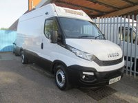 2015 IVECO-FORD DAILY 35S13 THERMO KING FRIDGE VAN + STANDBY 13000 MILES £19995.00