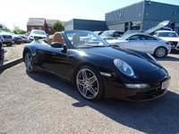 USED 2006 06 PORSCHE 911 3.8 CARRERA 4 S TIPTRONIC S 2d AUTO 350 BHP CONVERTIBLE  5 SERVICE STAMPS JUST BEEN SERVICED MOT TILL MARCH 2018 SAT NAV DISC  COST NEW £82723 WITH £3882 EXTRAS INCLUDE £1379 FOR EXTENDED NAV MODULE £768 BOSE SOUND SYSTEM  £523 TELEPHONE MODULE FOR PCM CDC-4 6 DOISC CD CHANGER £348 PARK ASIST £325 SPORTS SEATS £257 STAINLESS STEEL PIPES  TAIL PIPES £175 PORSCHE WHEEL CENTRES £107 SERVICING CARRIED OUT AT 4691M  25108M 48153M 64675M 91539M PLUS JUST BEEN SERVICED AT 110000M