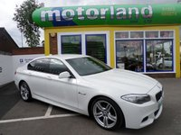 USED 2012 62 BMW 5 SERIES 2.0 520D M SPORT 4d AUTO 181 BHP 12 MONTHS MOT... 6 MONTHS WARRANTY.. FINANCE AVAILABLE