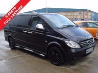 USED 2008 58 MERCEDES-BENZ VITO 2.1 111 CDI LONG TRAVELINER SWB 1d 109 BHP ONE OWNER FROM NEW 9SEATS