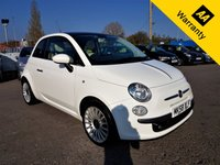 USED 2008 58 FIAT 500 1.4 LOUNGE 3d 99 BHP SPORTS! p/x welcome! 1 OWNER! 67k miles! FULL S-HIST! PAN-ROOF! BLUETOOTH! NEW MOT! 1OWNER! PAN-ROOF! FSH! B-TOOTH! SPORTS! FULL SRVC HIST! NEW MOT!