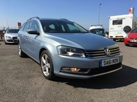 2011 VOLKSWAGEN PASSAT 2.0 SE TDI BLUEMOTION TECHNOLOGY 5d 139 BHP £6995.00