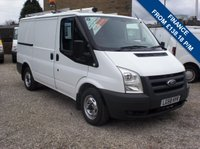 2008 FORD TRANSIT 85T 300 EX-BT SWB LOW ROOF VAN, FULLY RACKED, INSIDE AND OUT £5350.00