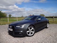 USED 2012 12 AUDI A5 2.0 TDI S LINE S/S 2d 177 BHP 2 OWNER FROM NEW + FULL AUDI SERVICE HISTORY