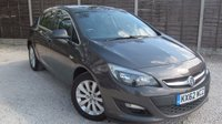USED 2013 62 VAUXHALL ASTRA 1.7 TECH LINE CDTI ECOFLEX S/S 5dr £30/year Tax, SAT NAV, 1 owner