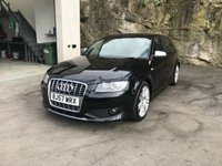 USED 2007 57 AUDI A3 2.0 S3 TFSI QUATTRO 3d 262 BHP FULL MAIN DEALER SERVICE HISTORY ** TWIN TONE LEATHER **