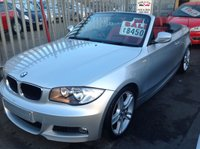 USED 2010 BMW 1 SERIES 2.0 118I M SPORT 2d 141 BHP Open top fun in the sun, 74000 miles, superb.