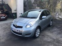 USED 2009 59 TOYOTA YARIS 1.3 TR VVT-I 5d 99 BHP FULL SERVICE HISTORY ** IMMACULATE ***