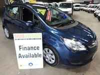 USED 2014 14 VAUXHALL MERIVA 1.7 EXCLUSIVE AC CDTI 5d 108 BHP 6 SPEED AUTOMATIC WITH SERVICE HISTORY **ONE OF THE MOST REALISTICALLY  PRICED & VALUE FOR MONEY  CARS NATIONALLY** '' YOU'RE IN SAFE HANDS  ''  WITH THE AA DEALER PROMISE