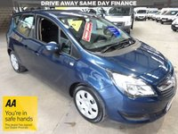 """USED 2014 14 VAUXHALL MERIVA 1.7 EXCLUSIVE AC CDTI 5d 108 BHP 6 SPEED AUTO WITH AIR CON & SERVICE HISTORY """"YOU'RE IN SAFE HANDS"""" - AA DEALER PROMISE"""