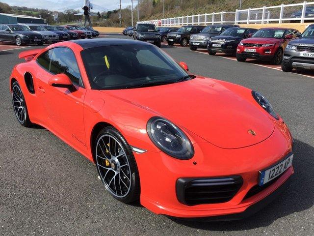 2016 16 PORSCHE 911 3.8 TURBO S PDK 2d AUTO 572 BHP