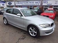 2008 BMW 1 SERIES 1.6 116I EDITION ES 5d 121 BHP £4995.00