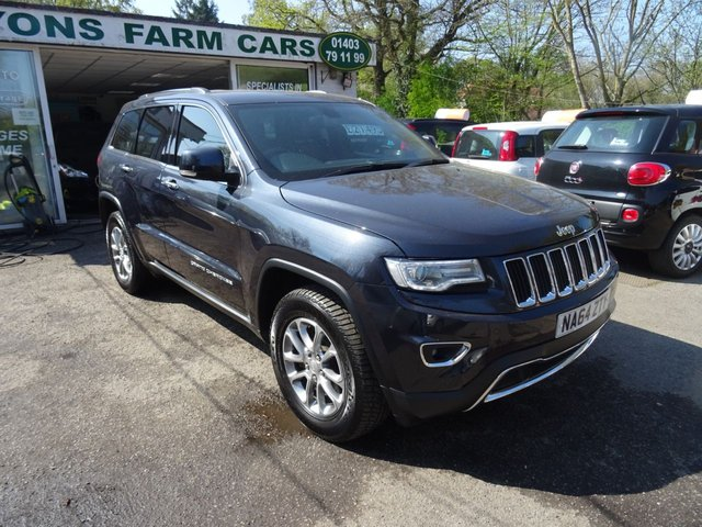 2014 64 JEEP GRAND CHEROKEE 3.0 V6 CRD LIMITED 5d AUTO 247 BHP