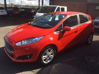 USED 2014 64 FORD FIESTA 1.5 ZETEC TDCI 5d 74 BHP £0 ROAD TAX, FORD WARRANTY 10/2017