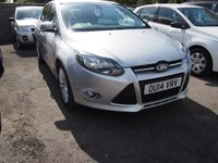USED 2014 14 FORD FOCUS 1.0 ZETEC 5d 124 BHP NEED FINANCE? WE CAN HELP. WE STRIVE FOR 94% ACCEPTANCE