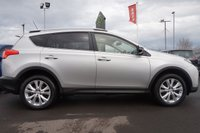 USED 2014 14 TOYOTA RAV4 2.0 D-4D INVINCIBLE AWD 5d 124 BHP