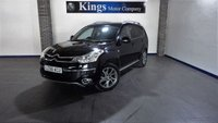 USED 2008 58 CITROEN C-CROSSER 2.2 EXCLUSIVE HDI 5dr Sat Nav, Leather, Parking Camera, 7 Seat, 4x4
