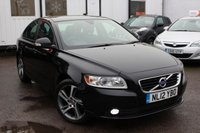 USED 2012 12 VOLVO S40 1.6 DRIVE SE EDITION S/S 4d 113 BHP