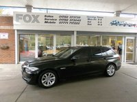 USED 2010 60 BMW 5 SERIES 2.0 520D SE TOURING 5d 181 BHP BMW 520D SE TOURER MANUAL GEAR BOX