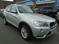 USED 2011 61 BMW X3 2.0 XDRIVE20D SE 5d AUTO 181 BHP SAT NAV, 46,000 MILES