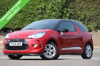 USED 2014 14 CITROEN DS3 1.6 E-HDI DSTYLE 3d 90 BHP 1 Owner From New