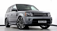 USED 2013 62 LAND ROVER RANGE ROVER SPORT 3.0 SD V6 HSE Black Edition 4x4 5dr (start/stop) Extended Leather, Dual View TV
