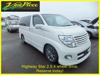 USED 2005 NISSAN ELGRAND Highway Star 2.5 Automatic 8 Seats 4 Wheel Drive +RARE 2.5 4WD HIGHWAY STAR+