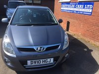 USED 2010 10 HYUNDAI I20 1.4 STYLE CRDI 5d 89 BHP ONLY 39K MILES, FULL SERVICE HISTORY