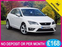 USED 2014 63 SEAT LEON 1.4 TSI FR TECHNOLOGY 3dr 140 BHP SAT NAV LEATHER DAB PHONE