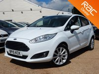 USED 2015 15 FORD FIESTA 1.0 TITANIUM 5d 124 BHP SONY STEREO, BLUETOOTH & MORE