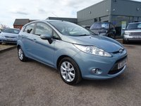 USED 2009 59 FORD FIESTA 1.2 ZETEC 5d 81 BHP 1 PREVIOUS  OWNER 7 SERVICE STAMPS SERVICED AT 5319M 9780M 16111M 21233M 28941M 36984M 46587M MOT TILL NOVEMBER 2017 2 KEYS LOTS OF SERVICE RECIEPTS INVOICES HPI CLEAR
