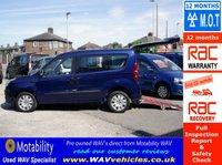 2012 FIAT DOBLO 1.4 MYLIFE 5d WHEELCHAIR ACCESSIBLE WAV £6495.00