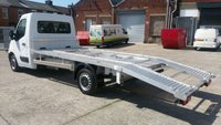 USED 2011 61 VAUXHALL MOVANO 2.3 F3500 L3H1 CDTI 1d 99 BHP 1 OWNER F/S/H / CAR TRANSPORTER WITH NEW BACK