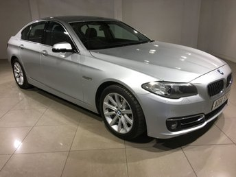 2014 BMW 5 SERIES 3.0 530D LUXURY 4d AUTO 255 BHP £19490.00