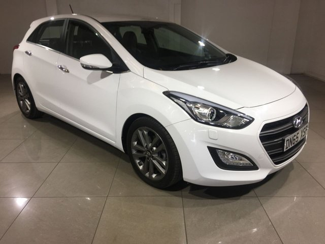 View our 2015 65 HYUNDAI I30 1.6 CRDI PREMIUM 5d 134 BHP