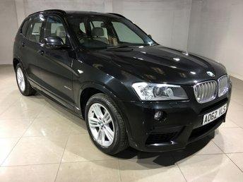 2013 BMW X3 3.0 XDRIVE35D M SPORT 5d AUTO 309 BHP £19490.00