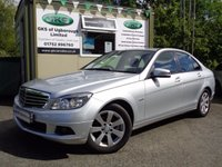 USED 2009 59 MERCEDES-BENZ C CLASS 1.6 C180 KOMPRESSOR BLUEEFFICIENCY SE 4d AUTO 156 BHP **VEHICLE AT OUR UGBOROUGH  BRANCH**