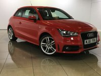 USED 2011 61 AUDI A1 1.6 TDI S LINE 3d 103 BHP 0 ROAD TAX / Very Economical