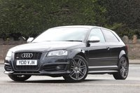 USED 2010 10 AUDI A3 2.0 S3 TFSI QUATTRO S LINE BLACK EDITION 3d 261 BHP Full Service History