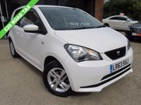USED 2013 63 SEAT MII 1.0 TOCA 3d 59 BHP SAT NAV, PARKING SENSORS, AIR CONDITIONING, ALLOYS, FULL SERVICE HISTORY, SPARE KEY