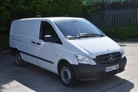 USED 2013 63 MERCEDES-BENZ VITO 2.1 113 CDI 5d 136 BHP LWB DIESEL MANUAL  PANEL VAN  ONE OWNER,FSH,CRUISE CONTROL,EURO 5 ENGINE