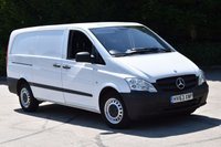 USED 2013 63 MERCEDES-BENZ VITO 2.1 113 CDI 6d 136 BHP LWB L/R DIESEL MANUAL  PANEL VAN  TWO OWNERS FINANCE AVAILABLE